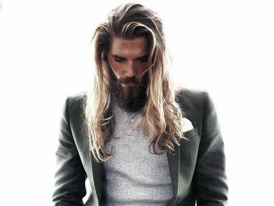 مدل های جدید بستن موی بلند مردانه