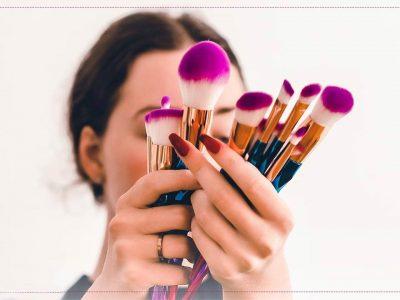 معرفی انواع براش آرایشی و کاربرد آن برای آرایش صورت
